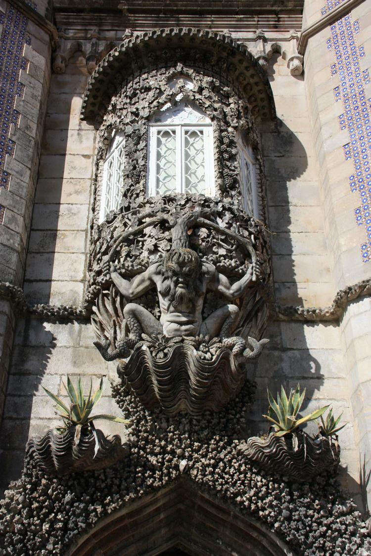 Португалия. Синтра<br /> Дворе