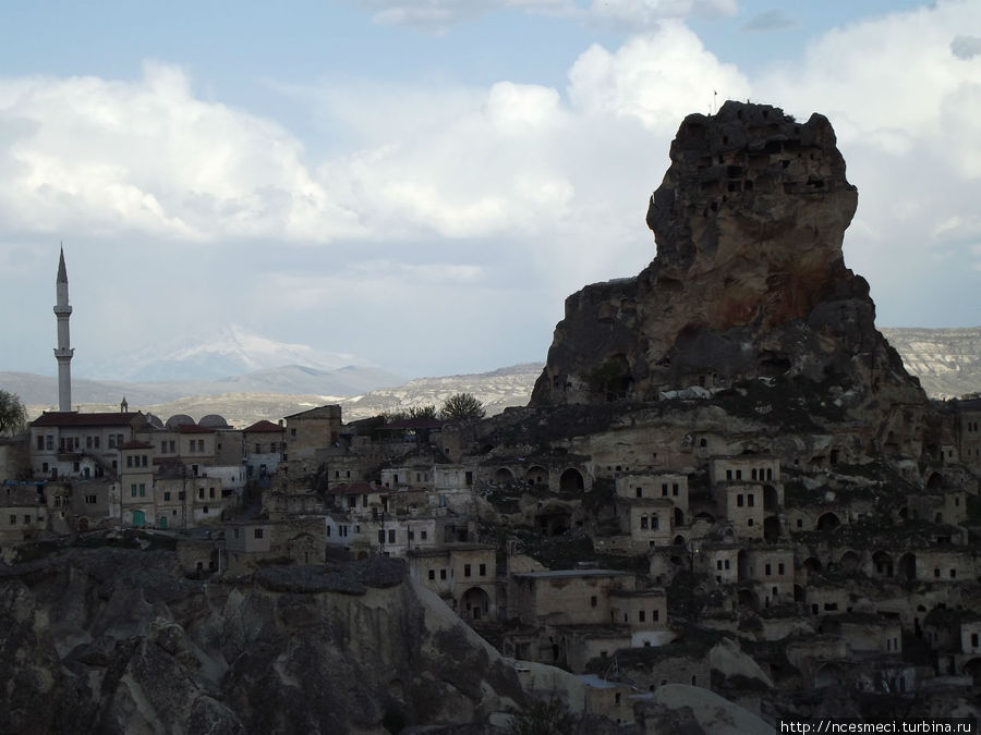 Крепость Ортахисар и Гора Эрджиес