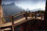 Каменный мост, гармонично вписывается в окружающий пейзаж