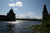 слияние рек Псковы и Великой