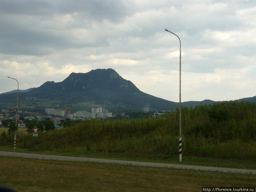 Гора Железная и Железноводск