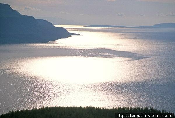 Озеро Хантайское.