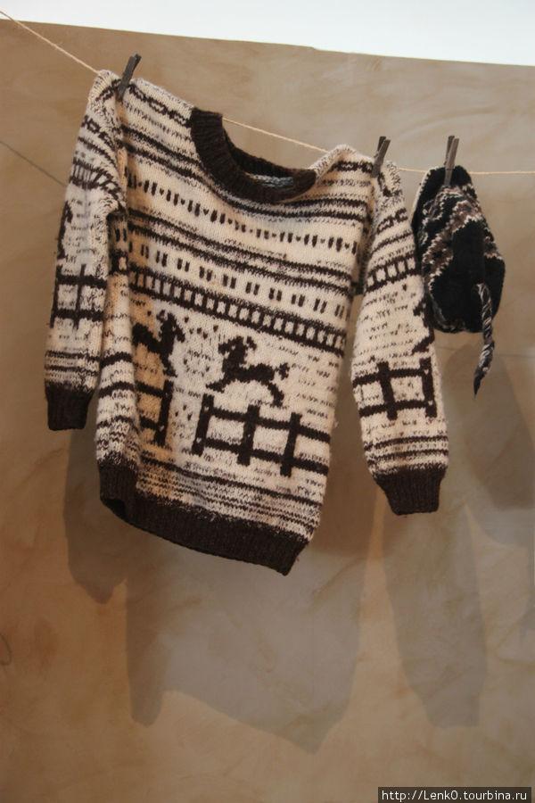 Морской музей Рейкъявик. традиционная исландская одежда