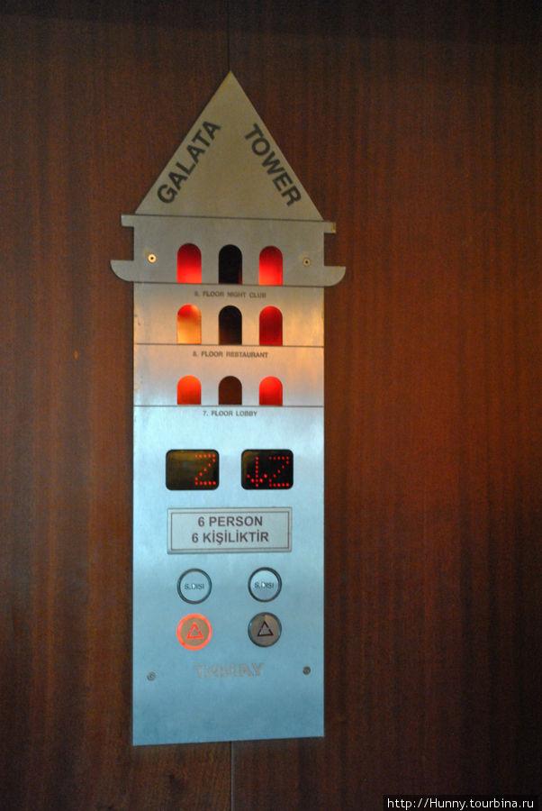 Лифт...