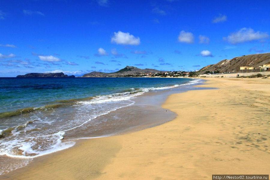 Остров Порту Санту. Пляж.