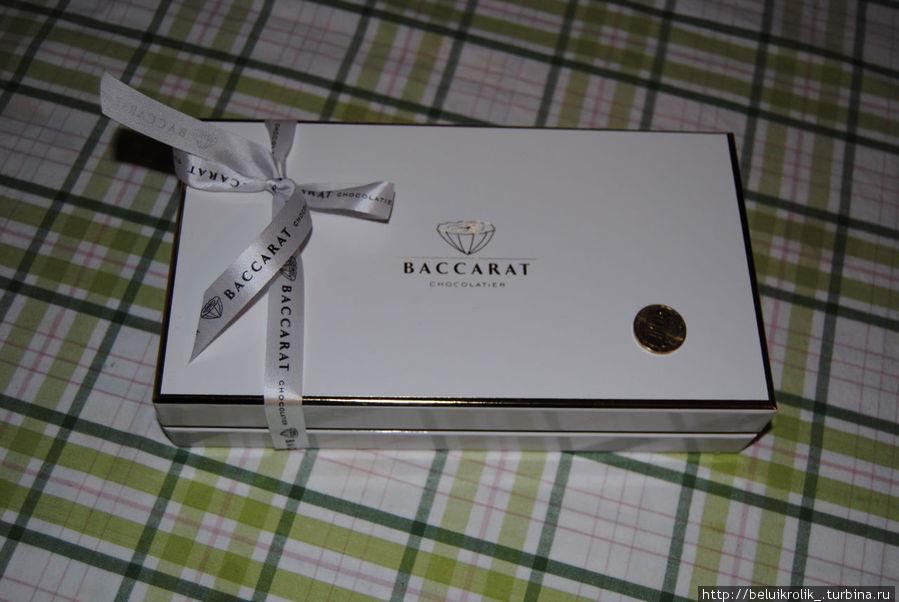 Так выглядит коробка за 1200 рублей в нее помещается 550 грамм конфет
