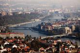 Вид на город с холма Петршин