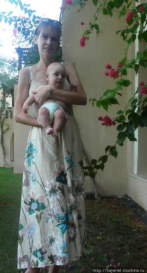 Во время путешествия Артемию исполнилось 4 месяца