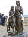 Памятник Илоне Зрини и ее сыну Ференцу Ракоци.