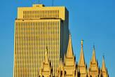 штаб-квартира церкви и самый главный мормонский храм