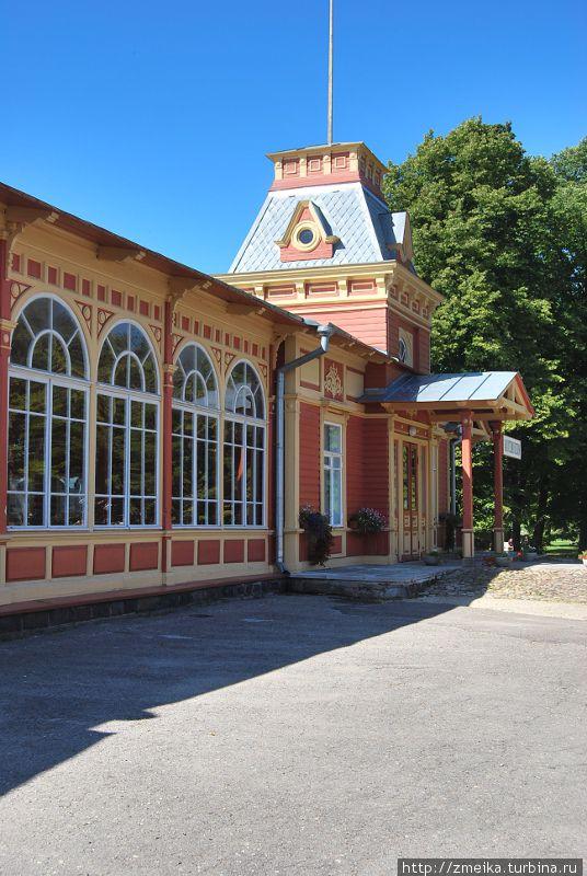 Музей располагается здесь — в Императорском павильоне