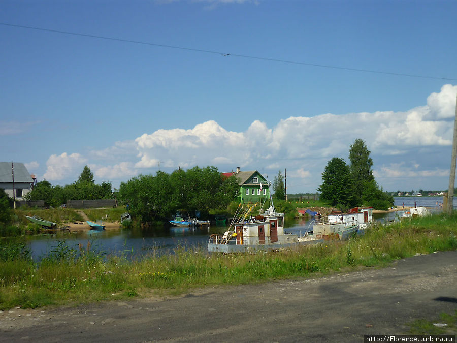 Новоладожский канал у впадения в Волхов