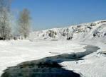 Река Чусовая в Новоуткинске