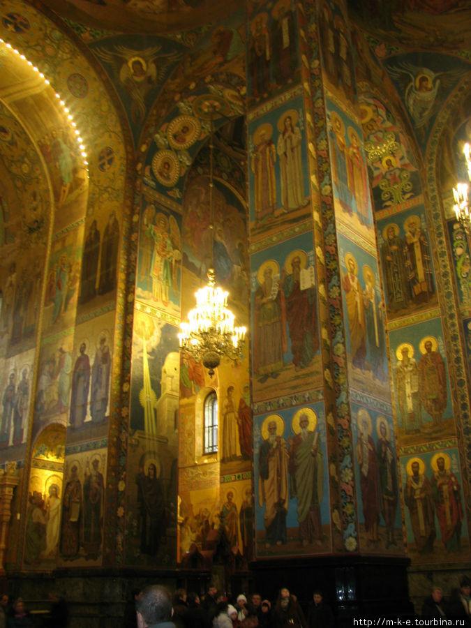 Мозаичное убранство храма