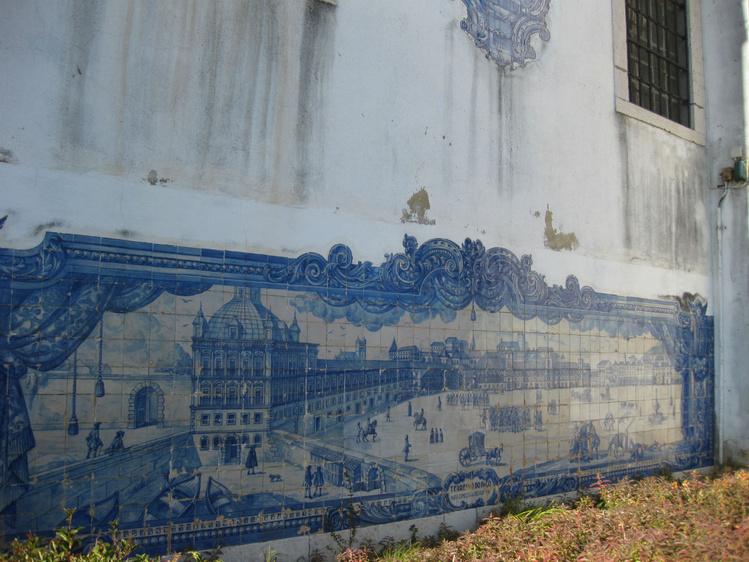 Лиссабон.<br /> Панно (азулежу