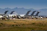 По соглашению о сокращении стратегических наступательных вооружений (СНВ), подписанному между США и Россией, здесь было уничтожено 365 бомбардировщиков Boeing B-2 Stratofortress.