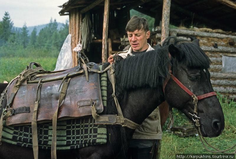 Андрей Морозов — один из Верхнегутарских каюров.