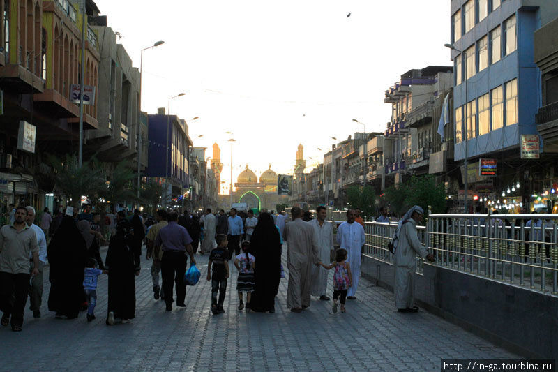 Золотая мечеть Багдада