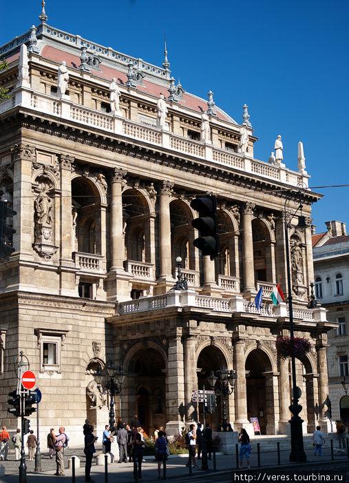 Будапештский оперный теат