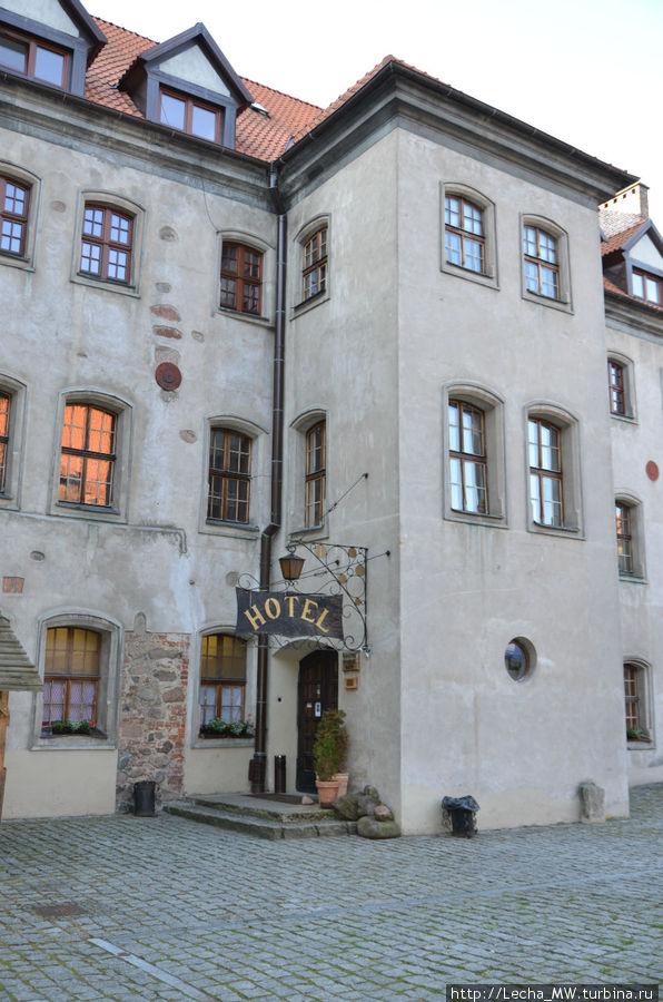 Гостиница, вид со двора
