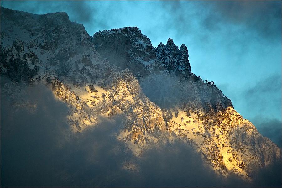 Вид на Ай-Петри с горы Ко