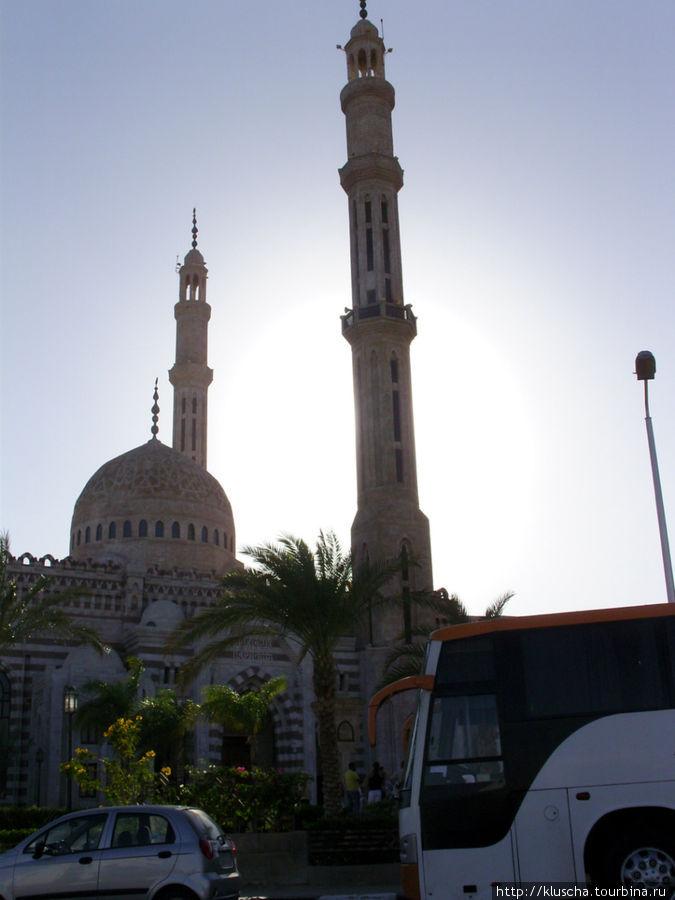 Мечеть в Шарме