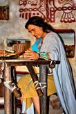 иудео-индеец, пророк Мормоний, пишет книгу своего же имени. музей истории церкви