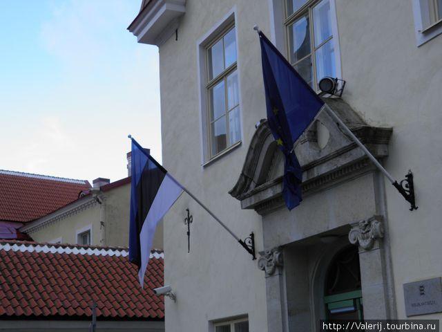 Национальные флаги Эстонии