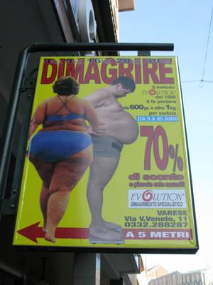 долой жирность