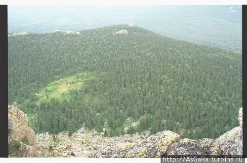 Вид с Откликного гребня Златоуст, Россия