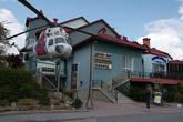 В городе много небольших отелей