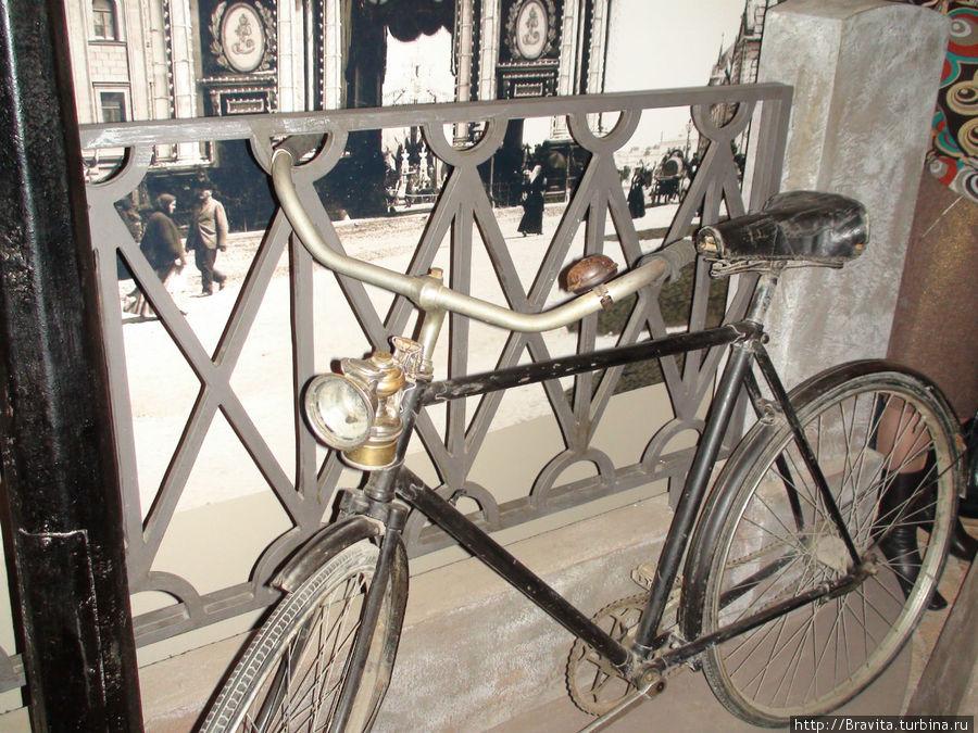 Велосипедный фонарик