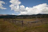 Южно-Чуйский хребет со двора турбазы