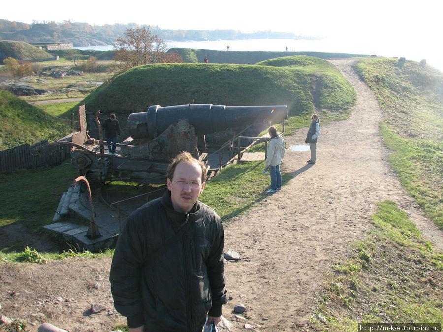 Вид на бастионы крепости