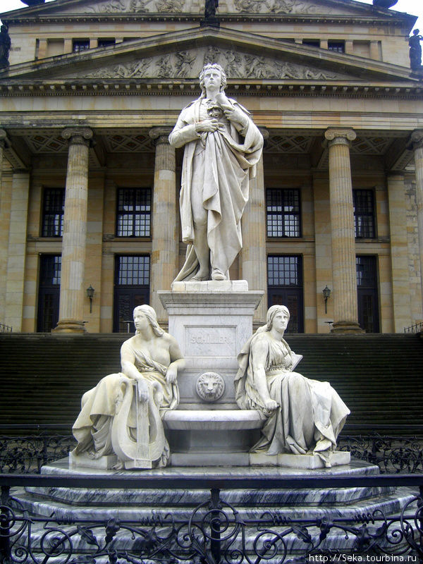 Памятник Ф. Шиллеру