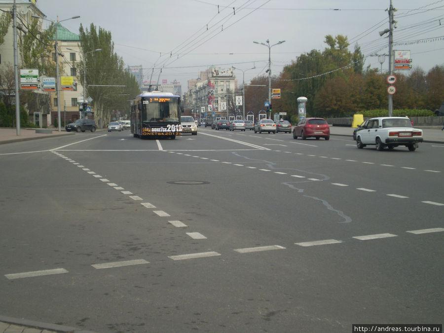 Донецк.Улица Артёма