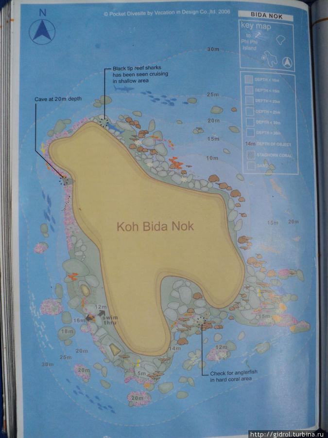 У берегов этого острова  вас ждет очень увлекательное погружение.