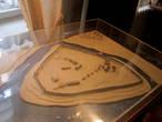 В Буйском краеведческом музее. Реконструкция старого городища