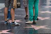 В-основном по звёздам ходят ногами.