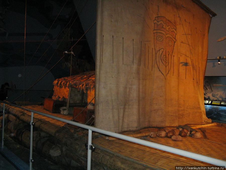 В музее Кон-Тики