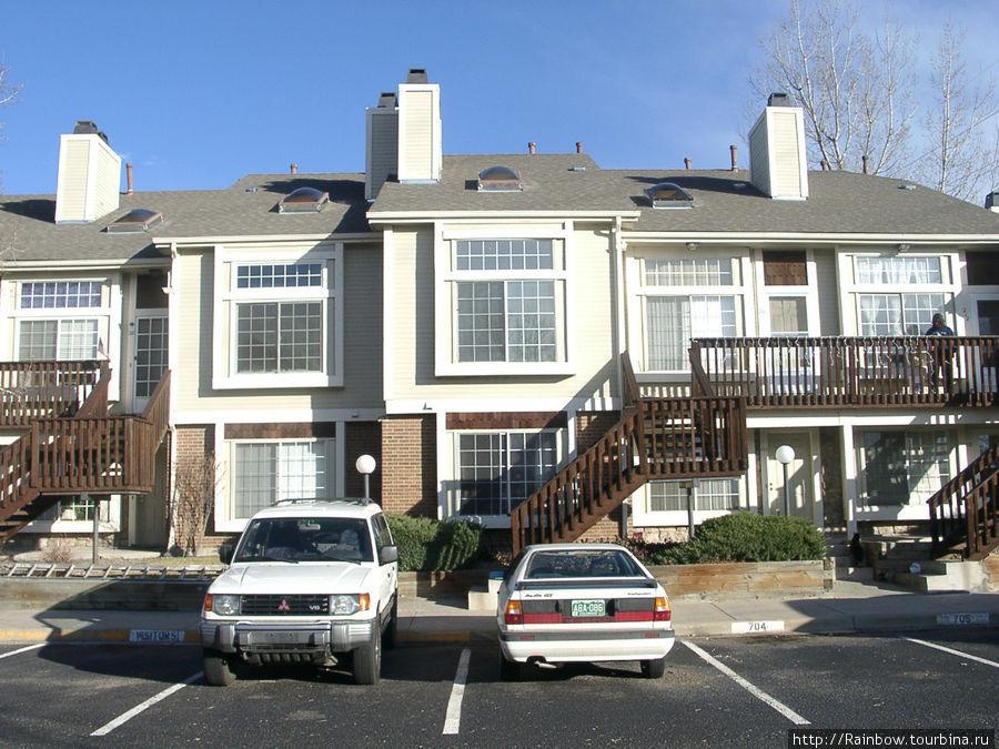 Один из вариантов квартирных комплексов.