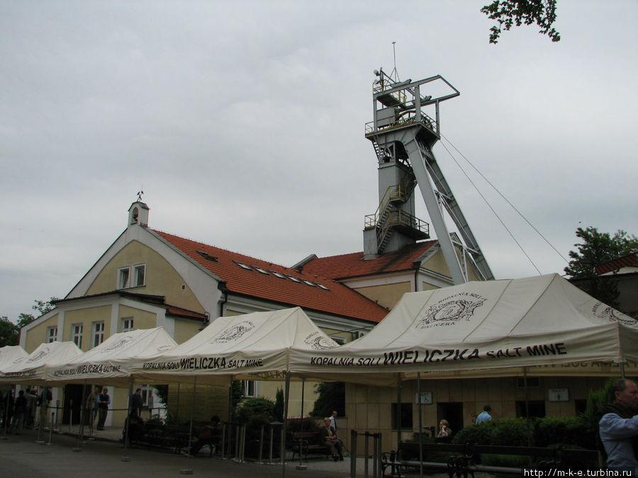 Здание шахты