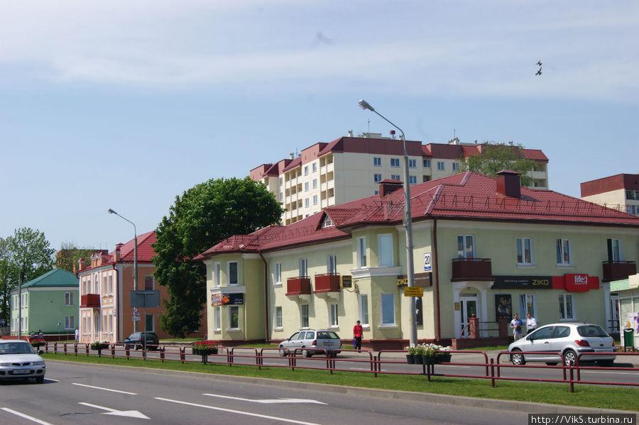 По-женски опрятный город Лида, Беларусь.