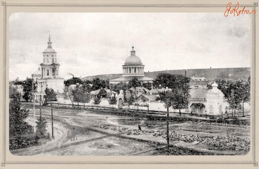 Так выглядел Рождество-Богородицкий монастырь в 1910-1917 годах.