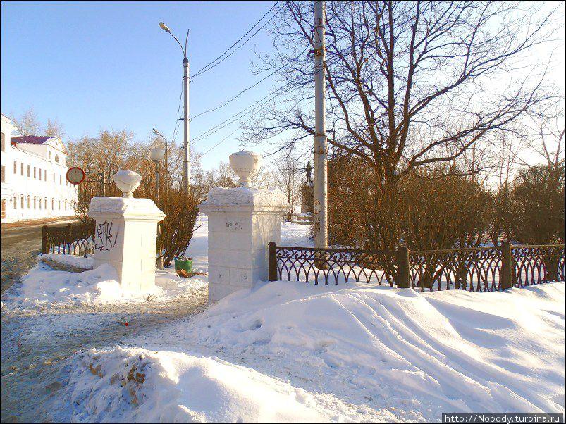 Петровский парк.