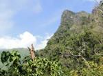 Перевалить гору не сложно (горы здесь лесистые и не очень высокие), и по ней проходит тропа. А за перевалом  виднелась другая возвышенность