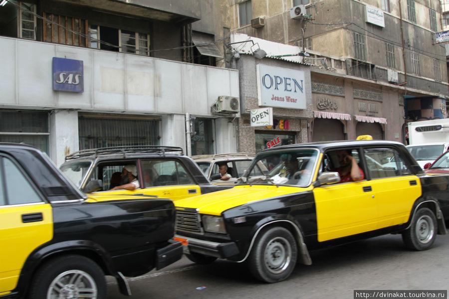 Обилие Жигули-такси