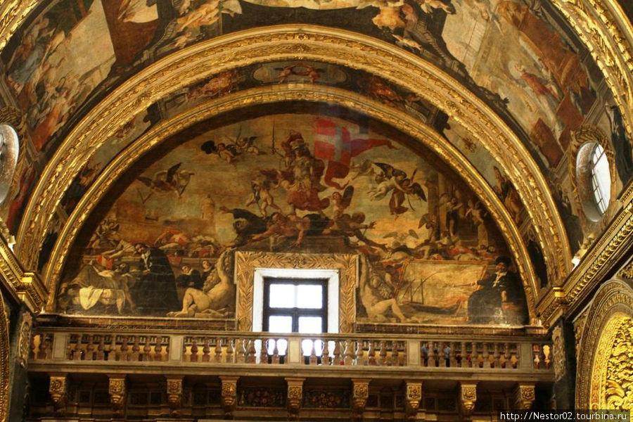 Валетта. Собор св. Иоанна. Деяния великих магистров.