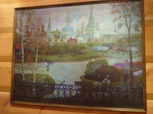 Картина из экспозиции музея Цветаевых
