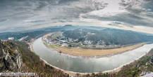 Немецкий курорт Ратен с высоты Бастая. Панорама
